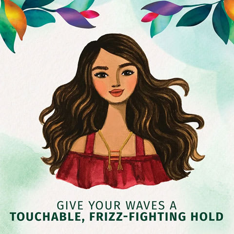 Give your waves a touchable, frizz-fighting hold