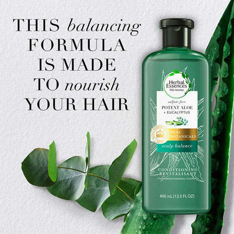 This balancing formula is made to nourish your hair