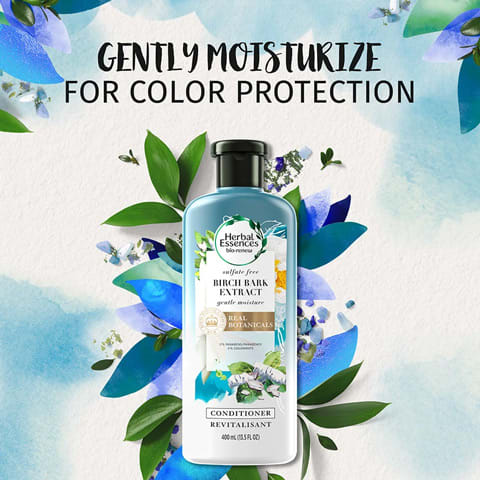 Gently moisturise for colour protection