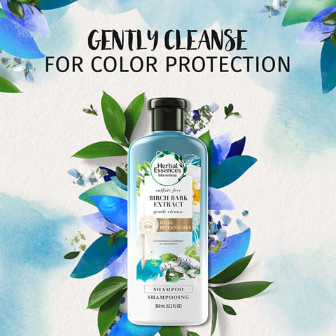 Gently cleanse for colour protection