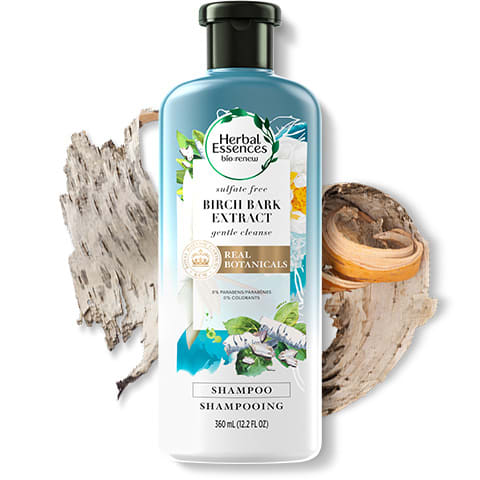 Birch Bark extract sulphate-free shampoo