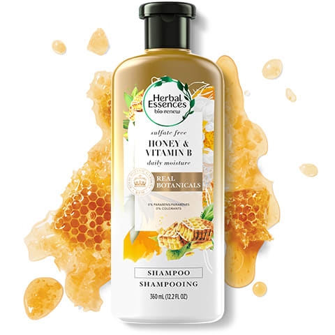 Honey & Vitamin B sulphate-free shampoo