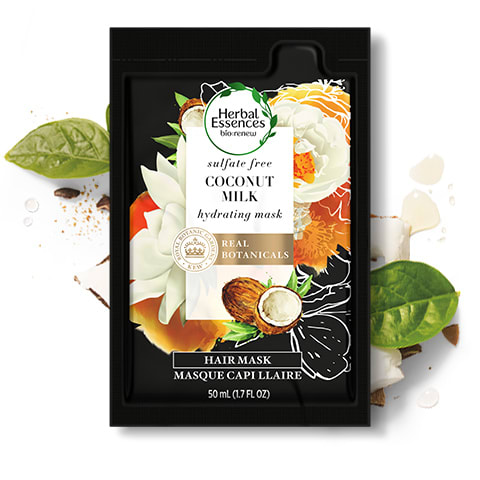 Herbal Essences Coconut Milk sulphate-free hair mask for hair hydration