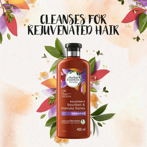 Cleanses for rejuvenated hair