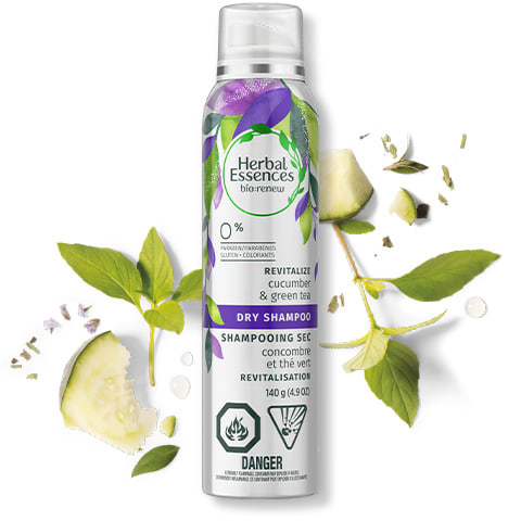 Herbal Essences Cucumber & Green Tea Dry Shampoo