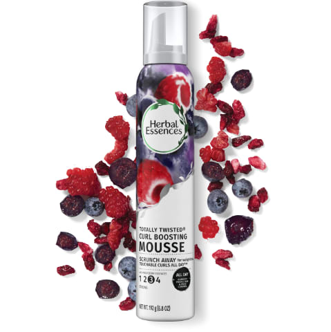 Mousse rehausse-boucles Herbal Essences Totally Twisted