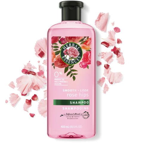 Shampooing lissant Herbal Essences Rose Hips