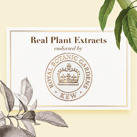 Real Plant Extracts endorsed by Royal Botanic Gardens, KEW