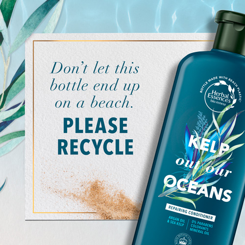 Don't Let this Bottle End up on a Beach. Please Recycle