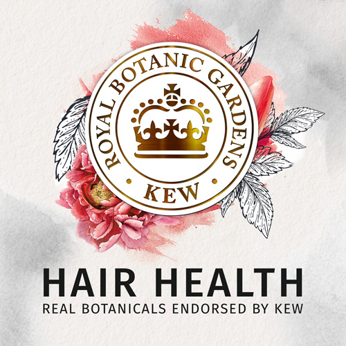 Hair Health - Real Botanicals Endorsed by KEW
