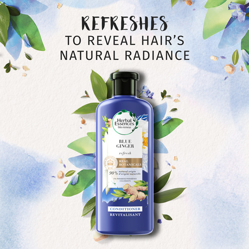 Refreshes to Reveal Hair's Natural Radiance