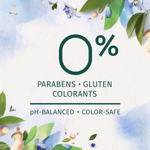0% Parabens, Gluten, and Colorants, Ph-Balanced and Color-safe