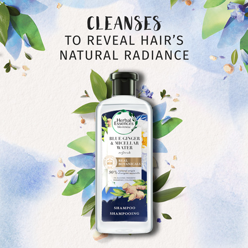 Cleanses to Reveal Hair's Natural Radiance