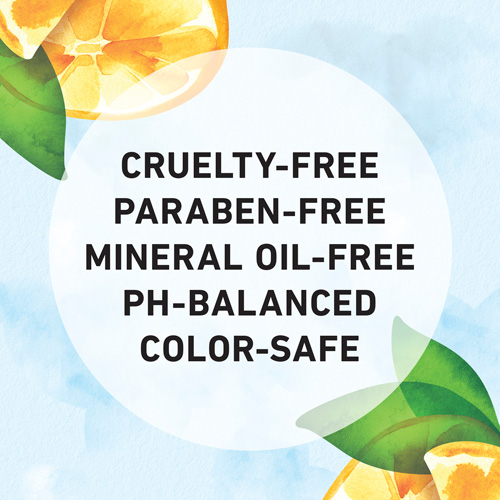 Cruelty-free, Paraben-free, Mineral Oil-free, Ph-Balanced, Color-safe