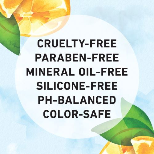 Cruelty-free, Paraben-free, Mineral Oil-free, Silicone-free, Ph-Balanced, Color-safe