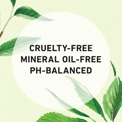 Cruelty-free, Mineral Oil-free, and Ph-Balanced