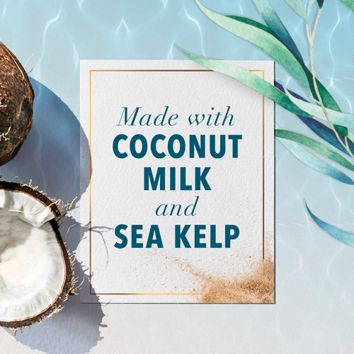 Made with Coconut Milk and Sea Kelp