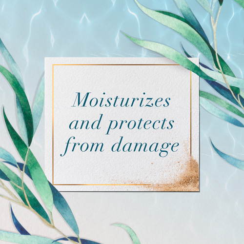 Moisturizes and Protects from Damage