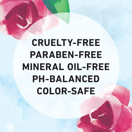 Cruelty-free, Paraben-free, Mineral Oil-free, Ph-Balanced, and Color-safe