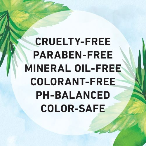 Cruelty-free, Paraben-free, Mineral Oil-free, Colorant-free, Ph-Balanced and Color-safe
