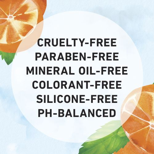 Cruelty-free, Paraben-free, Mineral Oil-free, Colorant-free, Silicone-free, and Ph-Balanced