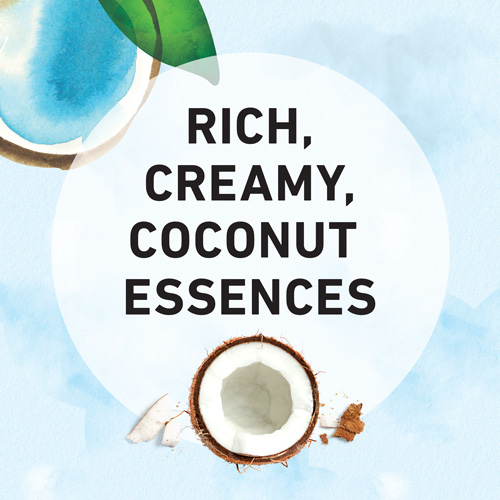 Rich, creamy, Coconut Essences