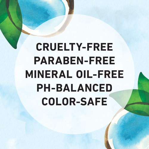 Cruelty-free, Paraben-free, Mineral Oil-free, Ph-Balanced and Color-safe
