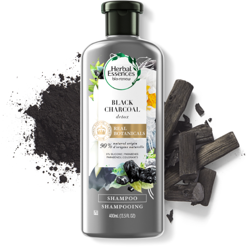 Herbal Essences Black Charcoal Shampoo for Detox