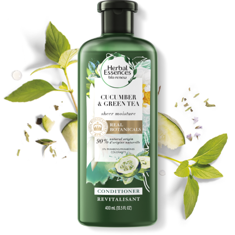 Herbal Essences Cucumber & Green Tea Conditioner for light Moisture