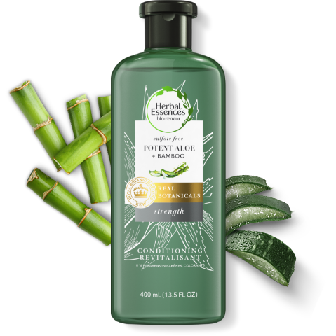 Herbal Essences Potent Aloe & Bamboo Hair Strengthening Sulfate-Free Conditioner