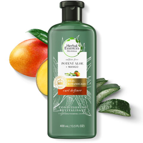 Herbal Essences Potent Aloe & Mango Curl Defining Sulfate-Free Conditioner