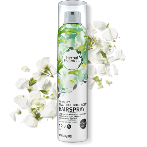 Herbal Essences Set Me Up Beautiful Bold Hold Hairspray