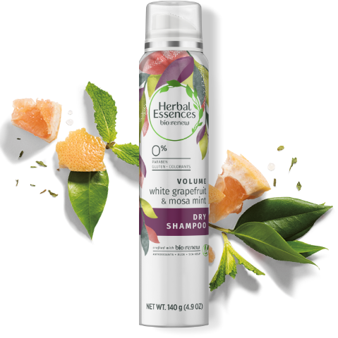 Herbal Essences White Grapefruit and Mosa Mint Volumizing Dry Shampoo
