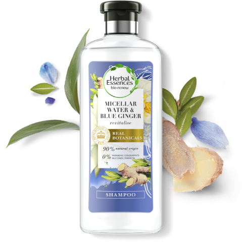 Herbal Essences Blue Ginger & Micellar Water refresh shampoo