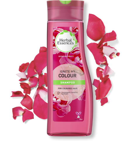 Herbal Essences Ignite My Colour shampoo bottle