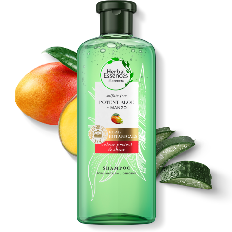 Herbal Essences sulphate free pure aloe & mango shampoo
