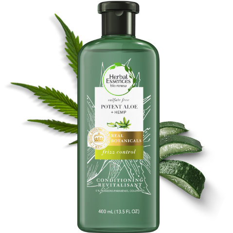 Herbal Essences Potent Aloe & Hemp Frizz Control Sulfate-Free Conditioner