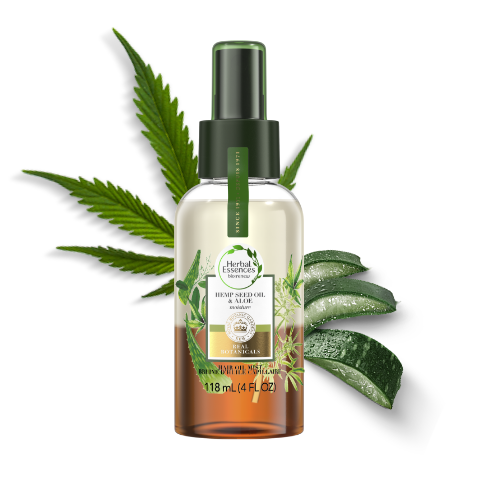 Herbal Essences Hemp Seed Oil & Aloe Lightweight Moisture Hair Oil Mist