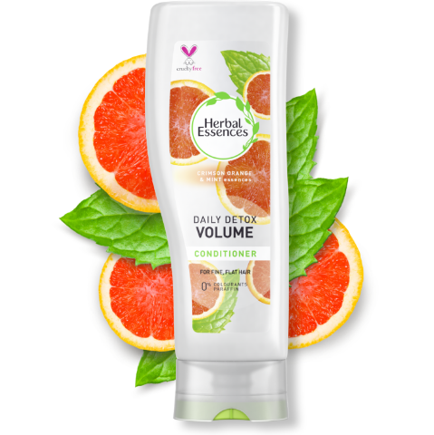 Herbal Essences Daily Detox volume conditioner bottle