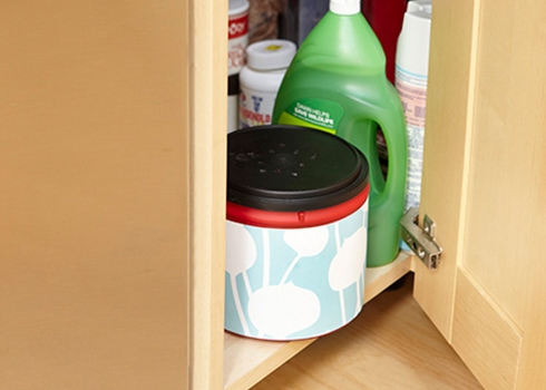 Waste Not With A Diy Kitchen Compost Bin