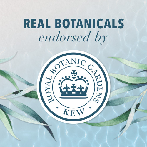 Real botanics endorsed by KEW