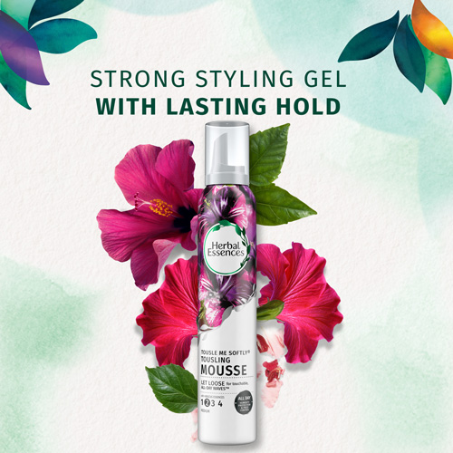Strong Styling Gel with Lasting Hold