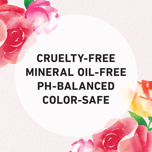 Cruelty-free, mineral oil-free, pH-balanced, color-safe