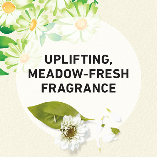 Uplifting, meadow-fresh fragrance