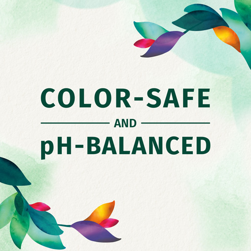 Color-safe and pH-balanced
