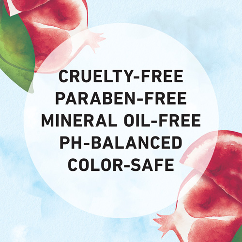 Cruelty Free, Paraben-free, Mineral Oil-free, Ph-Balanced and Color-safe