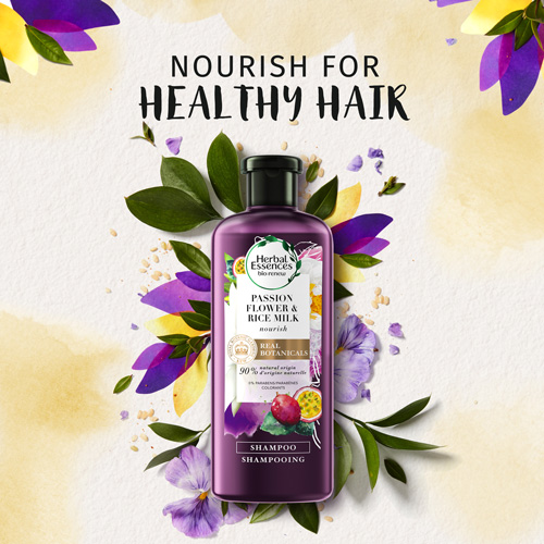 Nourish for healthy hair