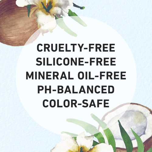 Cruelty-free, Silicone-free, Mineral Oil-free, Ph-balanced, Color safe