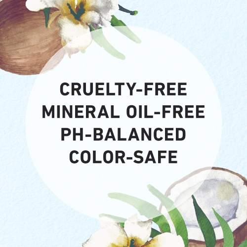 Cruelty-free, Mineral Oil-free, Ph-balanced, Color safe