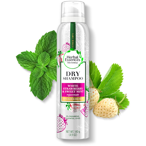 Herbal Essences White Strawberry and Sweet Mint Shine Dry Shampoo